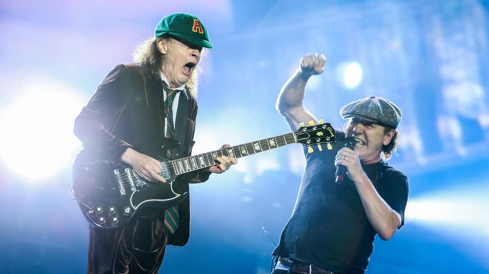 Исполнительское долгожительство дается группе AC/DC дорого, но дорогого стоит