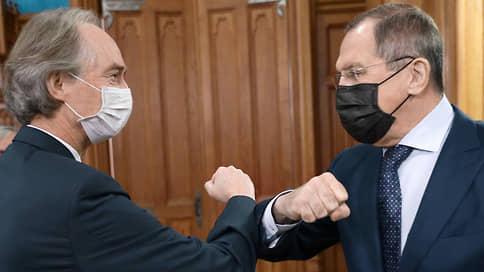 В Москву со своей Самосирией  / Спецпредставитель генсека ООН приехал за помощью в Россию