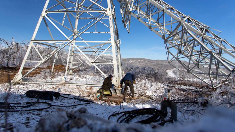 Что происходило в Приморье после ледяного дождя