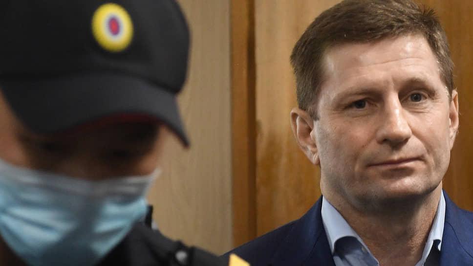 Экс-губернатору Фургалу хотят продлить арест на три месяца, чтобы закончить следствие по его делу