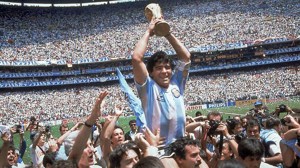 В 1986 году Диего Марадона стал единственным в истории футболистом, который смог выиграть чемпионат мира почти в одиночку