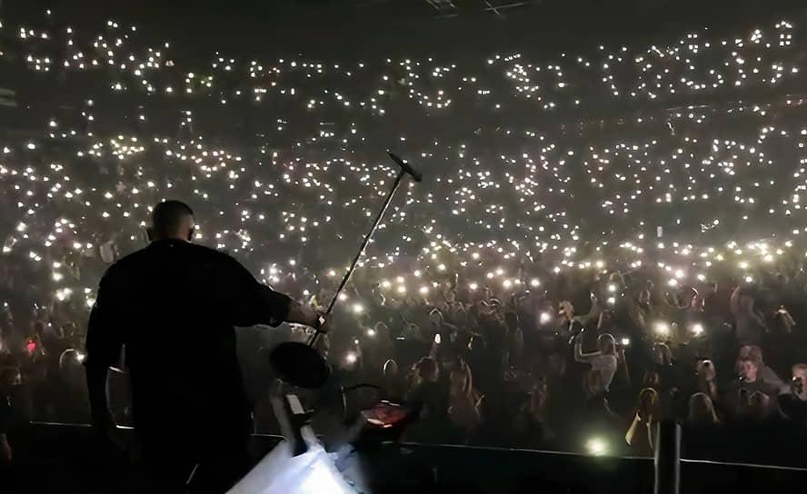 Концерт Басты в Ледовом Дворце Санкт-Петербурга