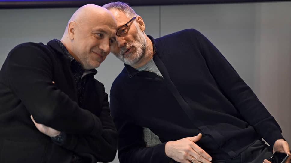 Захар Прилепин (слева) и политолог Сергей Михеев готовы создать для России новый «образ будущего»