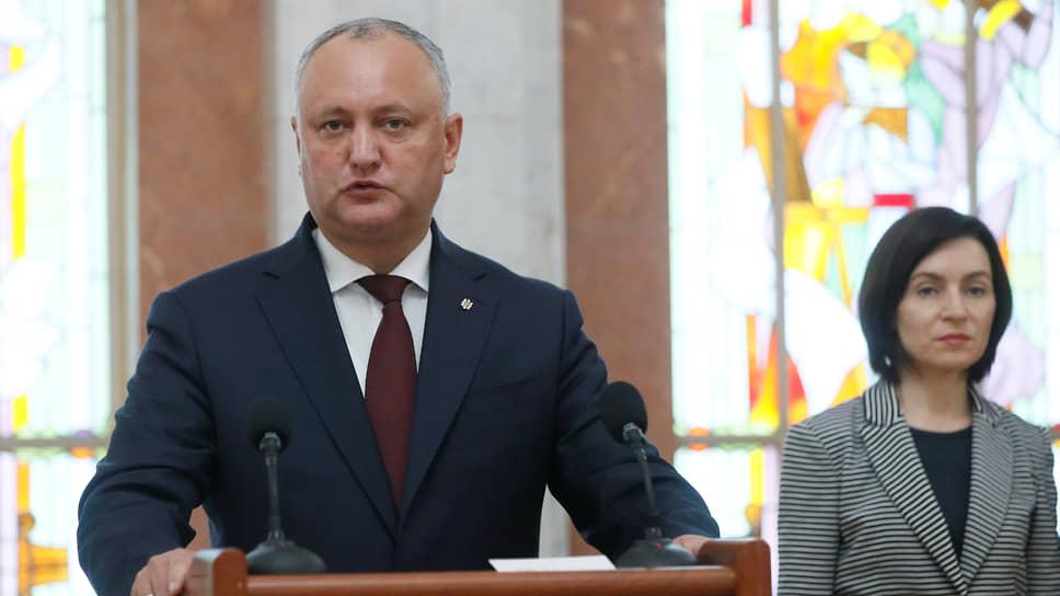Молдавия посла вразнос