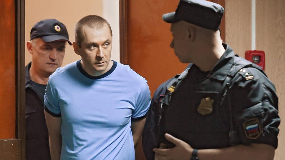 Экс-полковник ГУЭБиПК МВД Дмитрий Захарченко