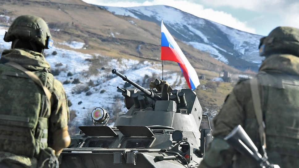 Российских миротворцев проверили в деле