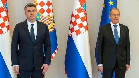 Хлеб да посольство  / Глава МИД РФ посетил Хорватию 16 лет спустя