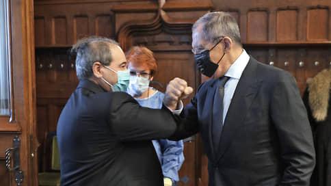 Новичок сирийской политики  / Новый глава МИД Сирии совершил первый визит в Россию