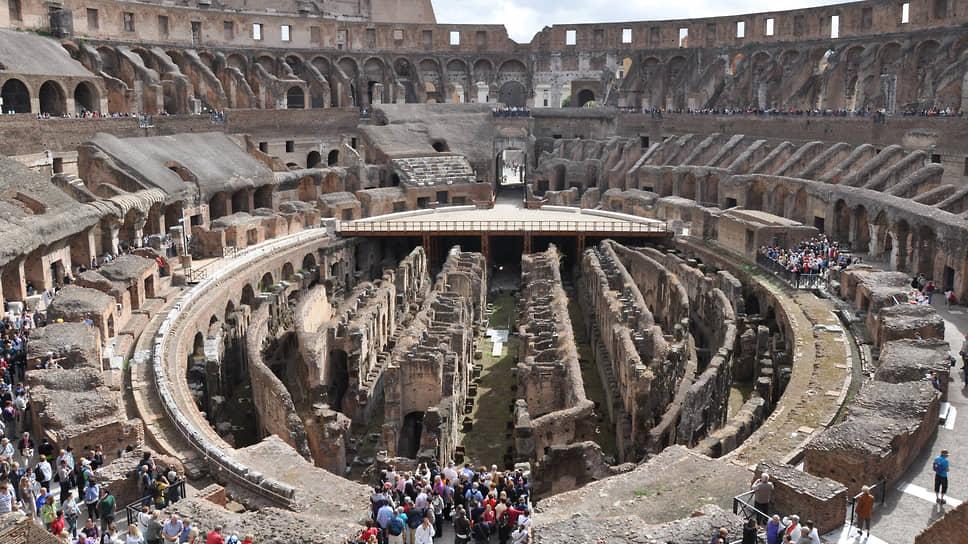 К удовольствию туристов в Колизее появится современная и высокотехнологичная арена