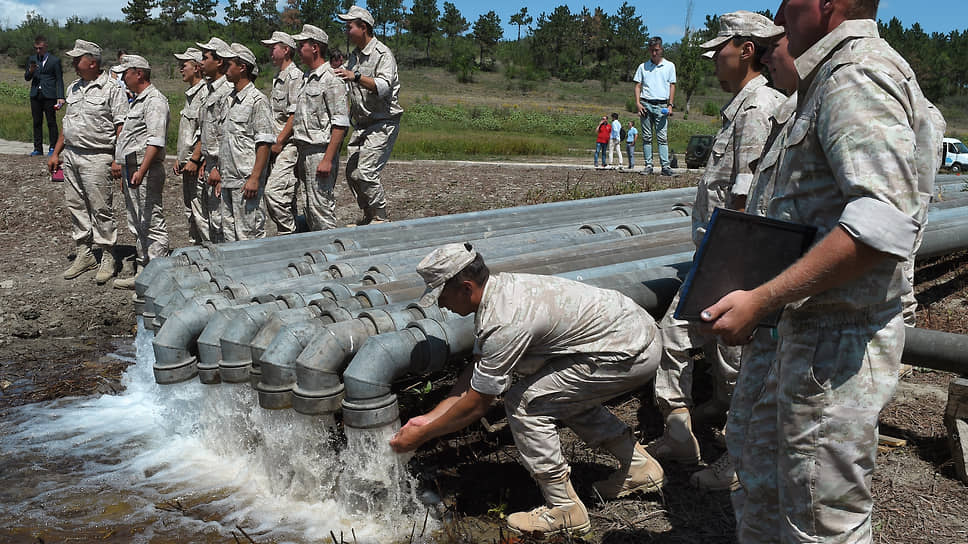 очему Украина грозится помешать проекту по опреснению воды в Крыму