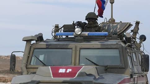 Россия прикрыла курдов  / На севере Сирии размещены дополнительные силы российской военной полиции