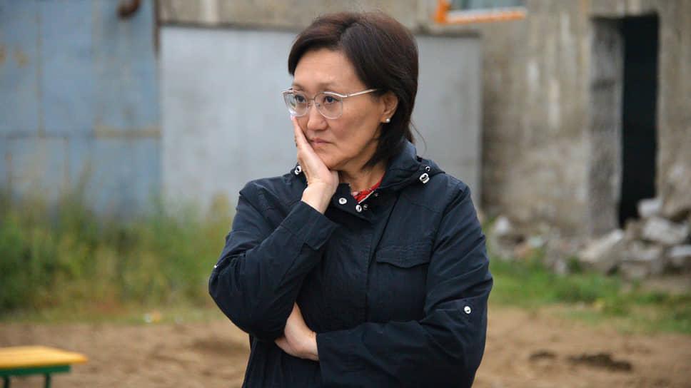Сардана Авксентьева пожаловалась на стресс и постоянное беспокойство за свой город