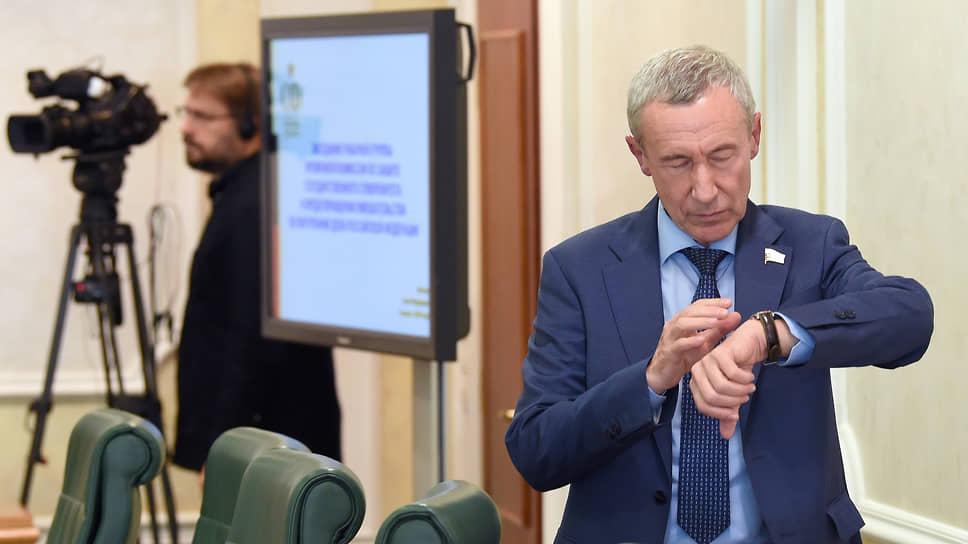 Представитель в СФ России от исполнительного органа государственной власти Пермского края Андрей Климов
