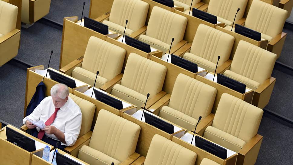Благодаря объединению со «Справедливой Россией» представители двух непарламентских партий надеются занять в новой Госдуме места рядом с Сергеем Мироновым (на фото)
