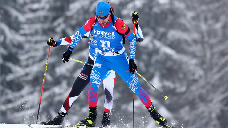 Александр Логинов принес сборной России первую личную победу в нынешнем Кубке мира по биатлону