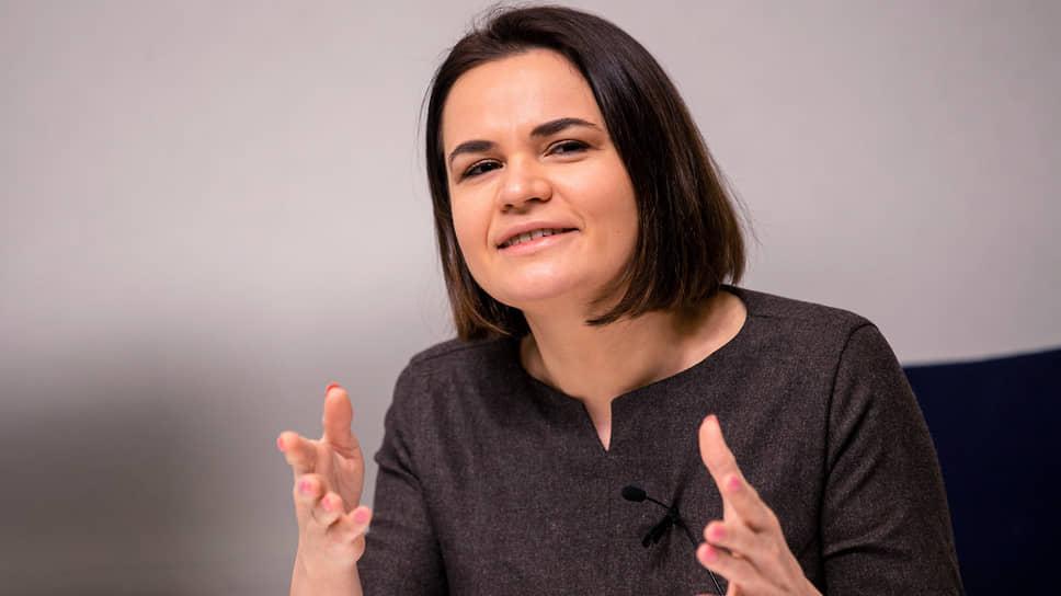 Лидер белорусской оппозиции Светлана Тихановская не устает призывать западных политиков к ужесточению санкций против Минска
