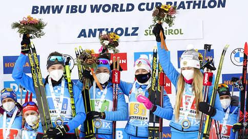 Сборная России открыла новые возможности // На последнем перед чемпионатом мира кубковом этапе она завоевала два золота
