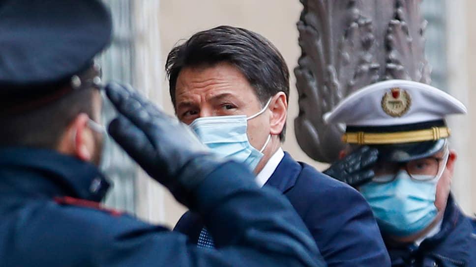 Бывший премьер Италии Джузеппе Конте