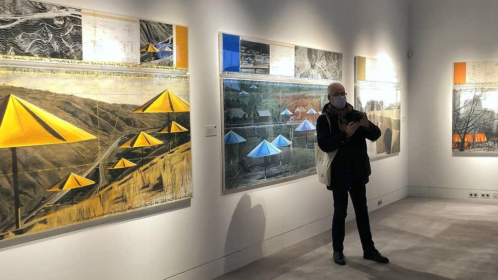 Проекты Кристо — «Зонтики» в двух вариантах — можно купить за €200–300 тыс.