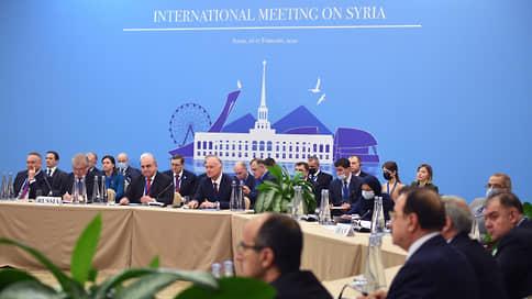 В Сочи оживляют Конституционный комитет  / На фоне буксующего «астанинского формата» Россия помогает Сирии и Израилю обменяться пленными