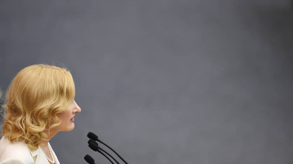 Заместитель председателя Госдумы Ирина Яровая