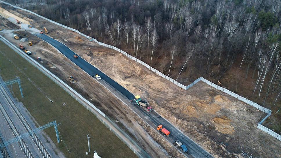 Строительство участка Северо-Восточной хорды продолжается уже четыре месяца, несмотря на протесты экологов