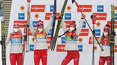 Российские лыжницы решили квартетный вопрос  / Они завоевали серебро в эстафете