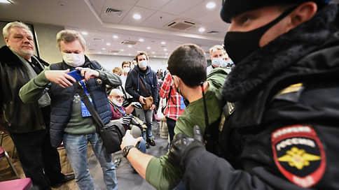 Несоответствие форума задержанию // Полиция заподозрила муниципальных депутатов в сотрудничестве с заграницей