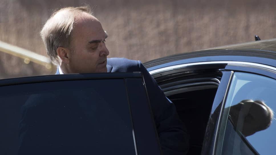 Посол РФ в Вашингтоне Анатолий Антонов