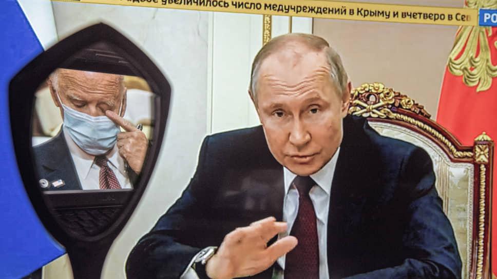 Владимир Путин ждет ответа от американского коллеги