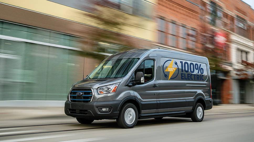 Электрический фургон Ford Transit