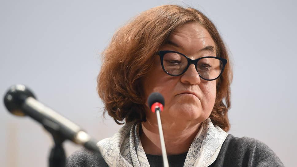 Генеральный директор Государственной Третьяковской галереи Зельфира Трегулова