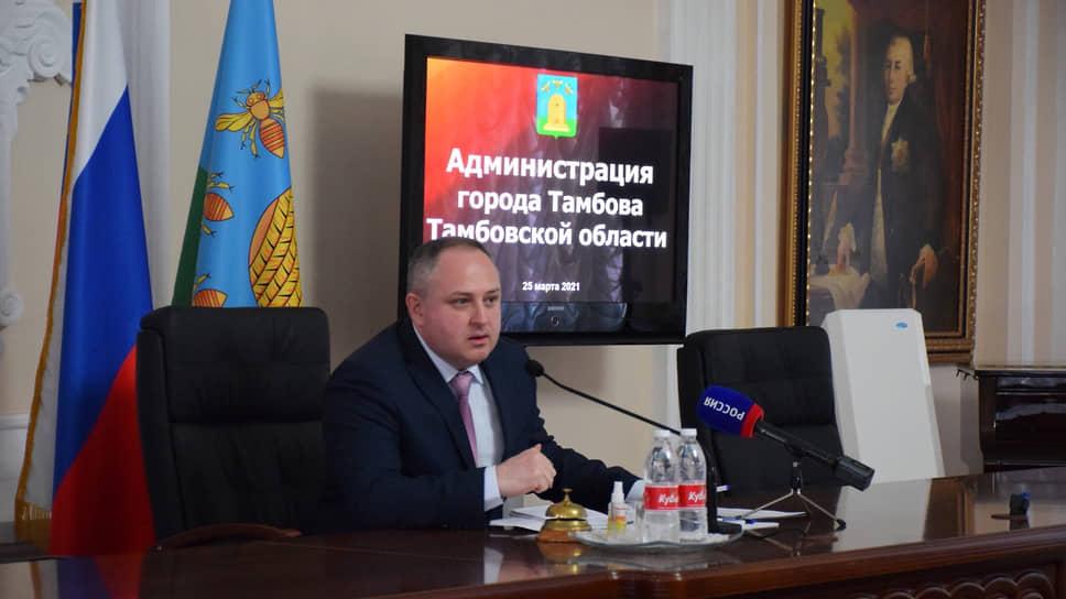 Временно исполняющий обязанности мэра Тамбова и лидер местного отделения «Родины» Максим Косенков
