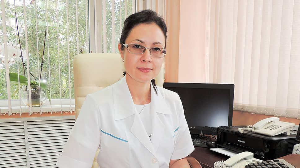 Главный врач детской городской поликлиники №7 Елена Кац