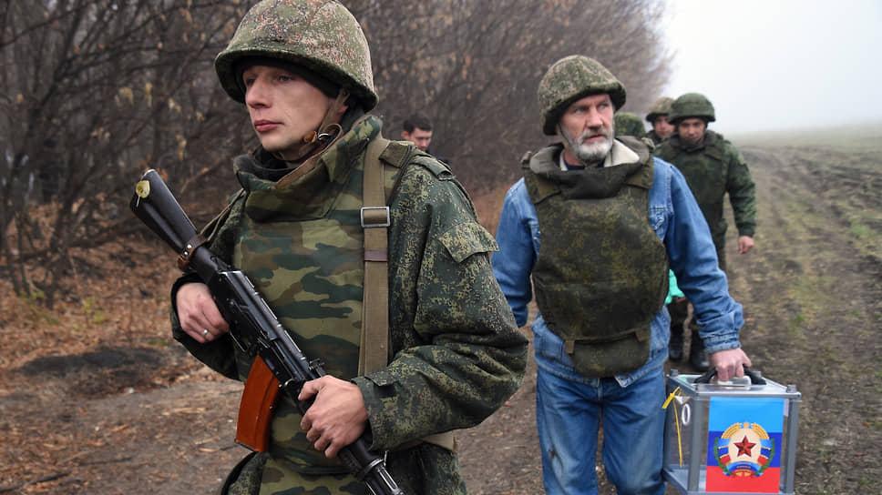 Захар Прилепин вводит урны в Донбасс