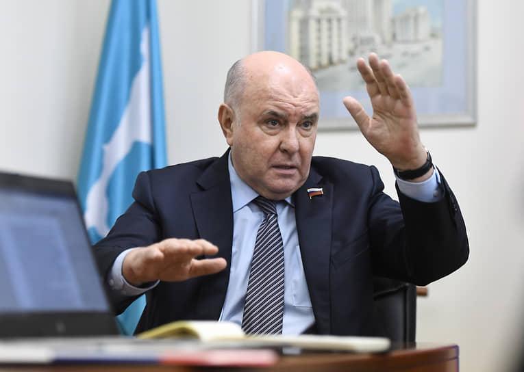 Глава комитета Совета федерации по международным делам Григорий Карасин