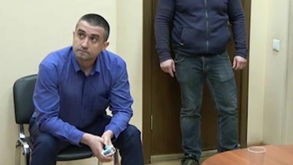 Консул Генерального консульства Украины в Санкт-Петербурге Александр Сосонюк, задержанный сотрудниками ФСБ