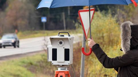 ГИБДД выбивает почву из-под треног  / Передвижных камер фиксации нарушений становится меньше