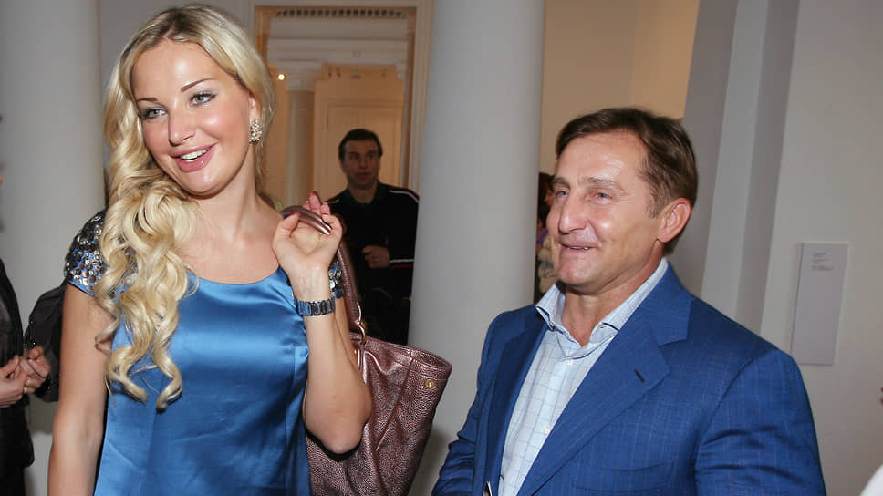 Певица Мария Максакова и бизнесмен Владимир Тюрин
