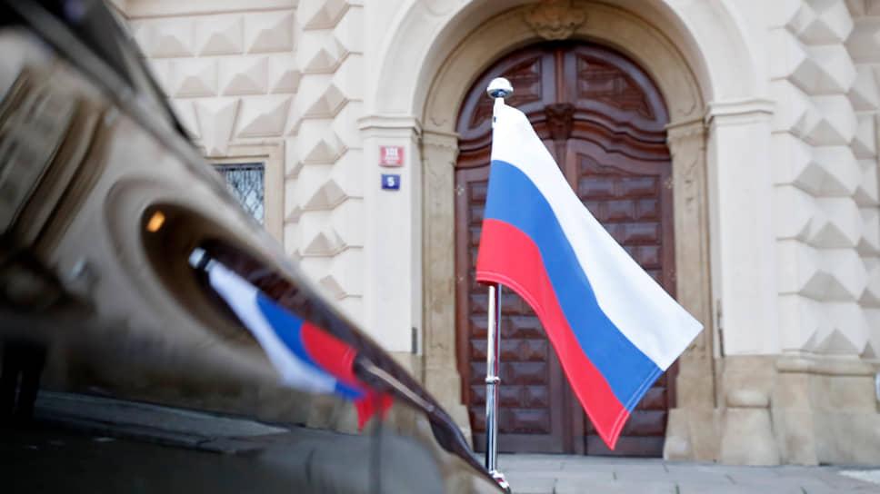 На Москву обрушился пражский град