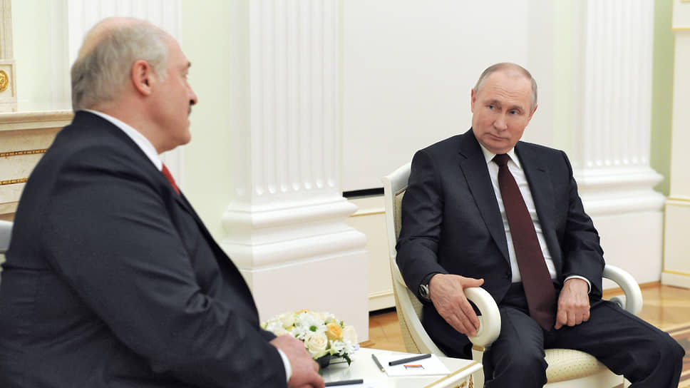 Александр Лукашенко и Владимир Путин часов не наблюдали