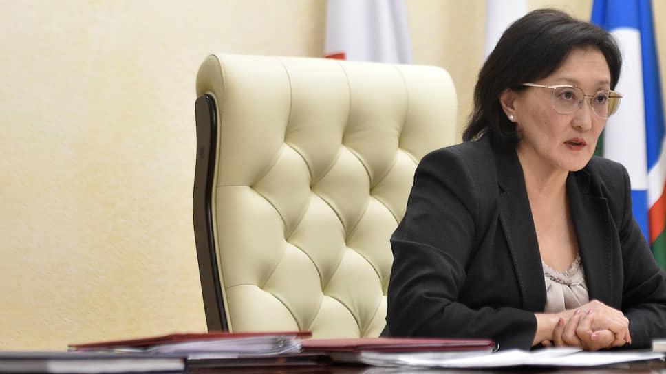 Бывший мэр Якутска Сардана Авксентьева