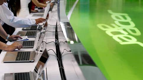 Acer встает за прилавок  / У вендора появится сеть монобрендовых магазинов в РФ