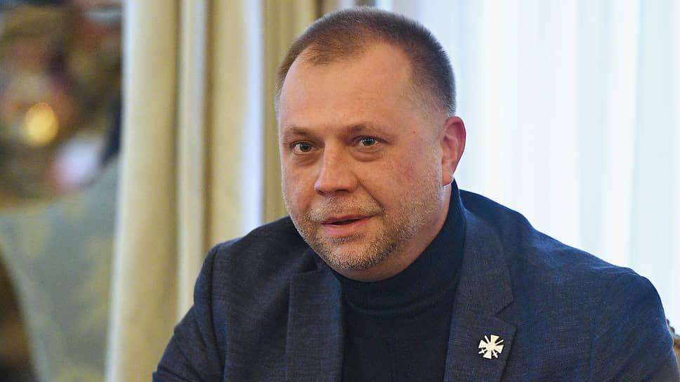 Председатель правления Союза добровольцев Донбасса Александр Бородай