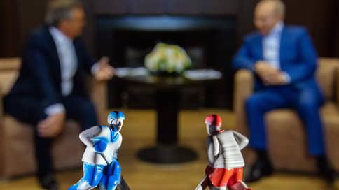 Россия выиграла себе два чемпионата  / Зачем Владимир Путин встречался с Рене Фазелем