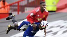 «Манчестер Юнайтед» сыграл по-соседски  / Его поражение обеспечило чемпионский титул «Манчестер Сити»