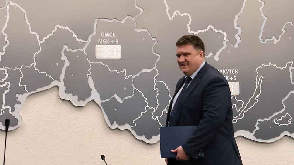 Глава ЦИК «Единой России» Александр Борисов