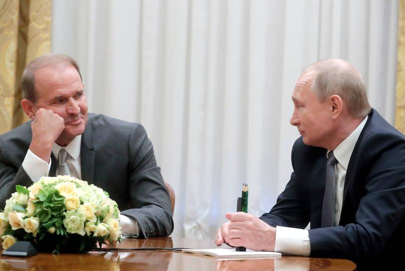 Владимир Путин дал понять, что Виктор Медведчук находится под его личной опекой