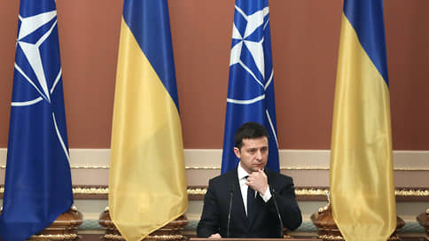 Владимир Зеленский зелен еще для НАТО  / Украина спешит с евро-атлантической интеграцией