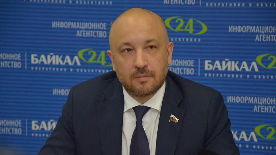 Депутат Госдумы Михаил Щапов